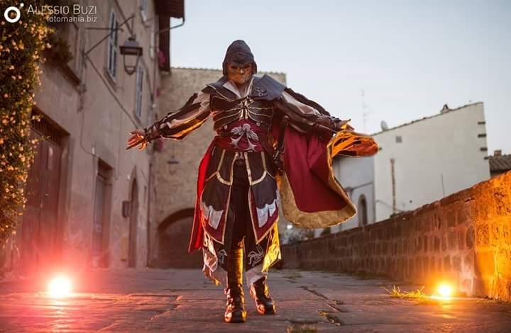 Ezio Auditore from AC Brotherhood