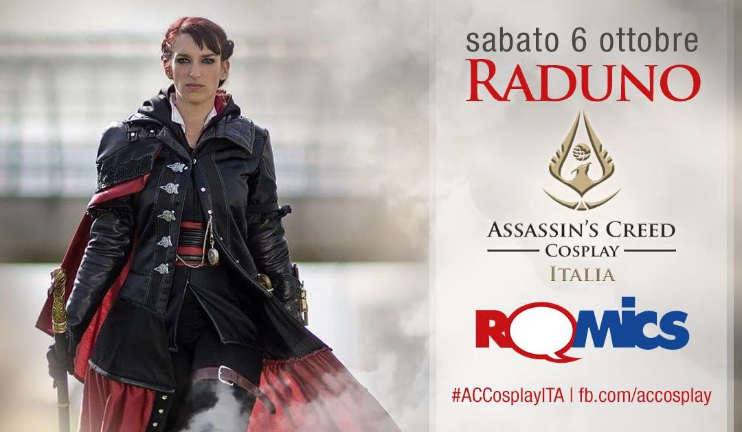 Raduno Assassin's Creed al Romics 2018