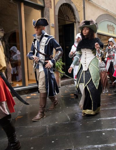 Connor Kenway from AC 3 & Aveline de Grandpré from AC Liberation