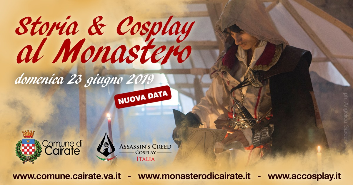 Storia & Cosplay al Monastero