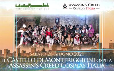 Ospiti al Castello di Monteriggioni