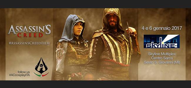 Evento ufficiale di promozione del film di Assassin's Creed