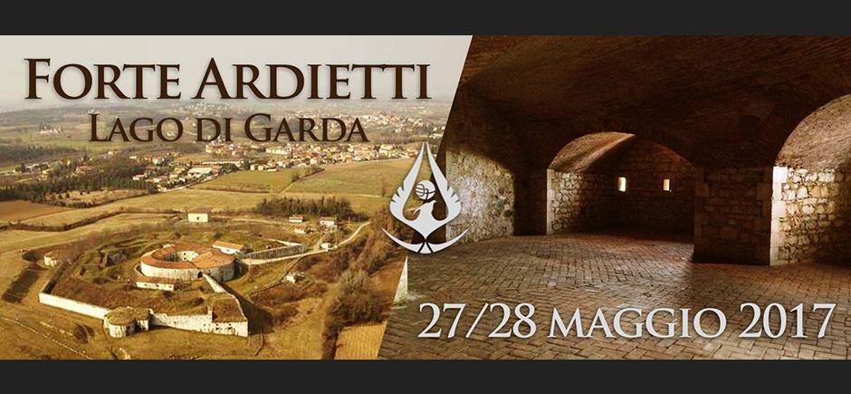 Forte Ardietti / Lago di Garda – 27/28 Maggio 2017